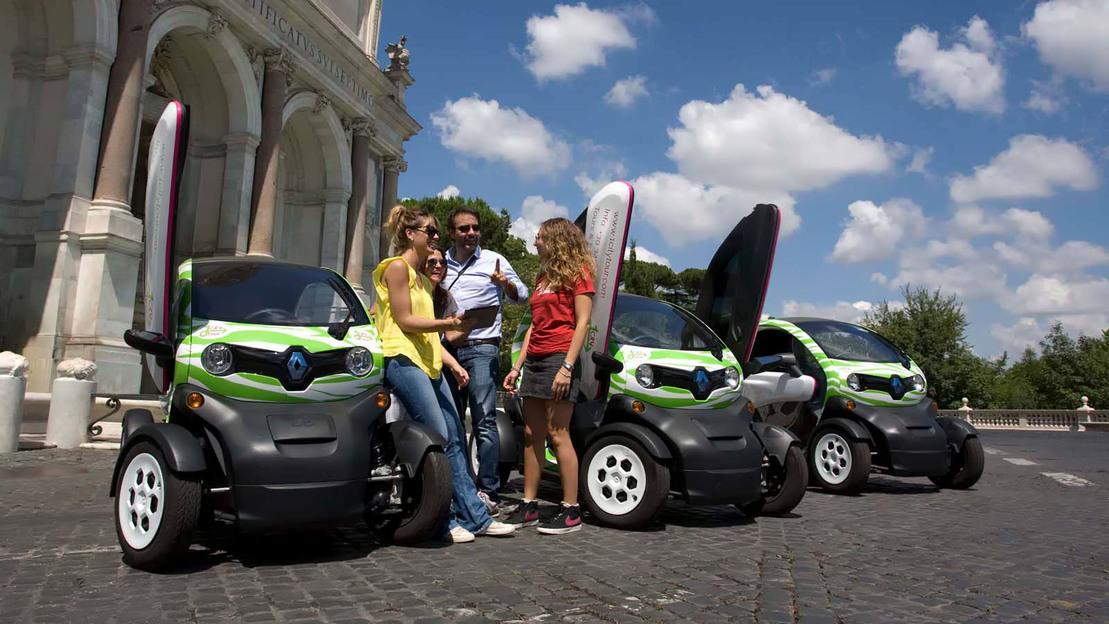 Rental for Electric Car Self-Guided Tour in Rome - Main image