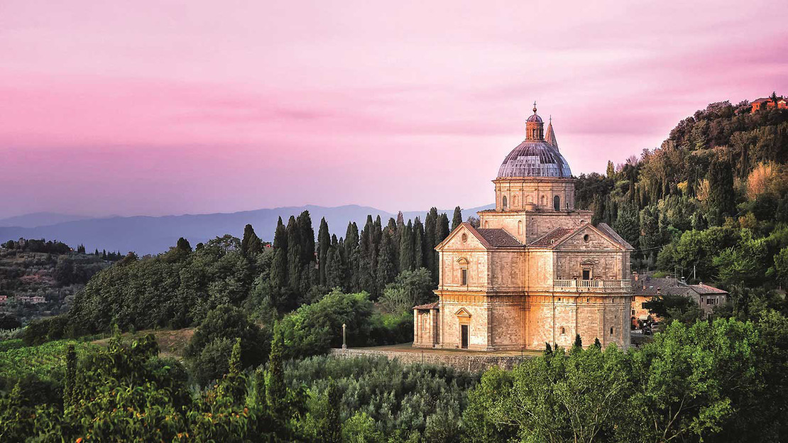 Montalcino, Pienza and Montepulciano enogastronomic tour from Florence - Main image