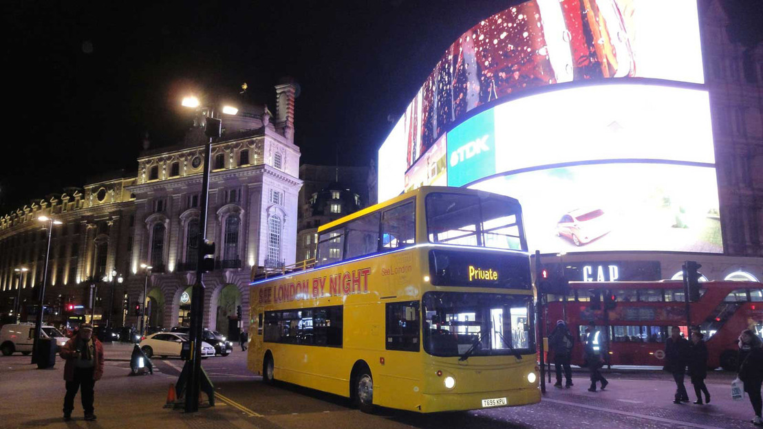 London by Night Open Top Bus Tour - Main image