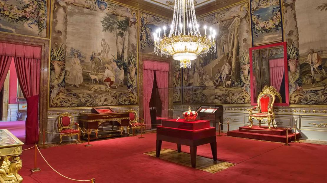 Accès rapide au palais royal de Madrid - Main image
