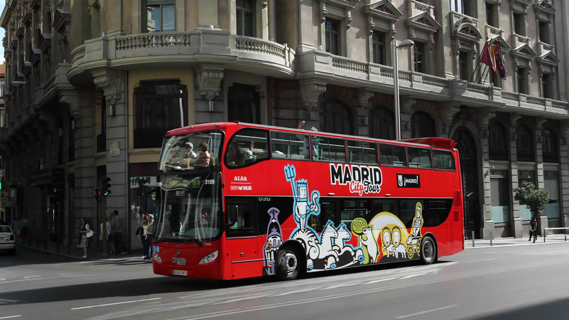 Madrid: Hop-on Hop-off Bus Turistico - Main image