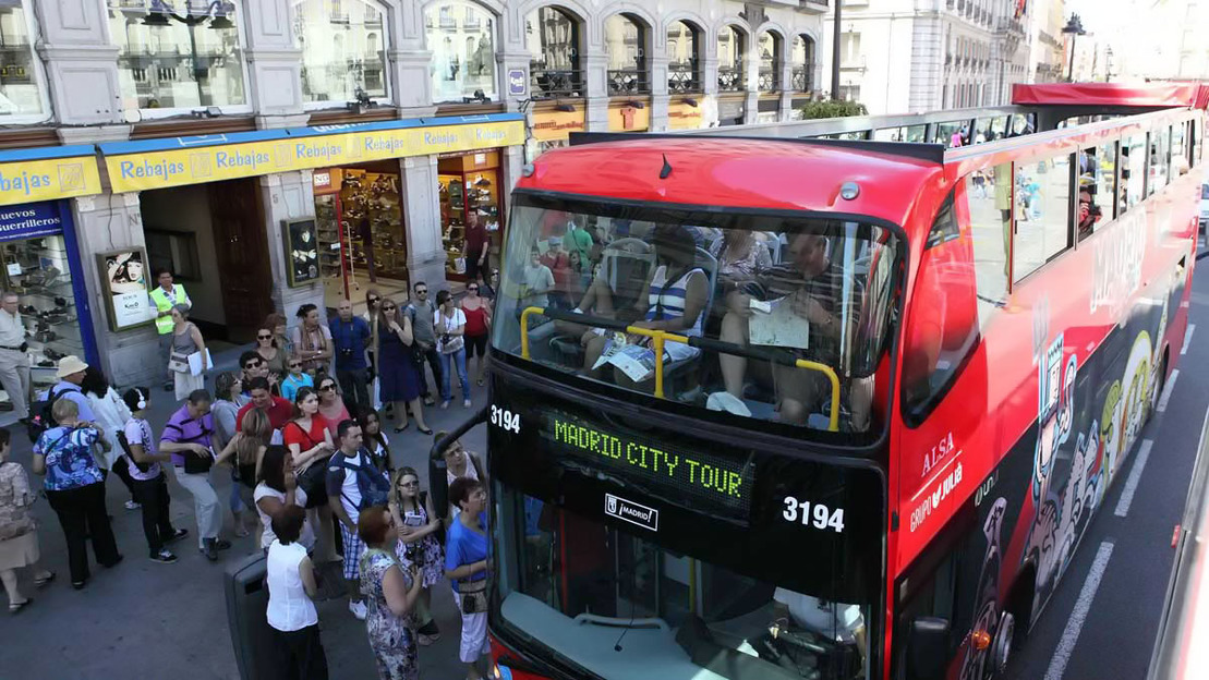 Hop-On Hop-Off Bus Tour in Madrid - Main image