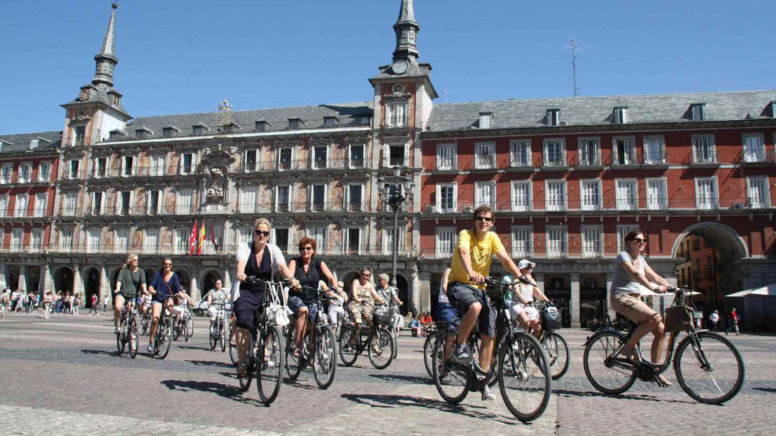 Highlights Tour in bicicletta di Madrid - Main image