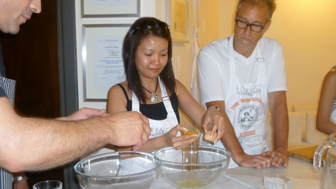 Lezione di cucina toscana e visita del mercato centrale a Firenze - Main image