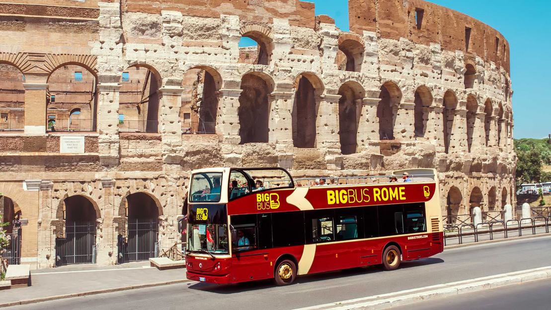 Ticket bus tour Rome Hop On and Hop Off Big Bus  - Main image