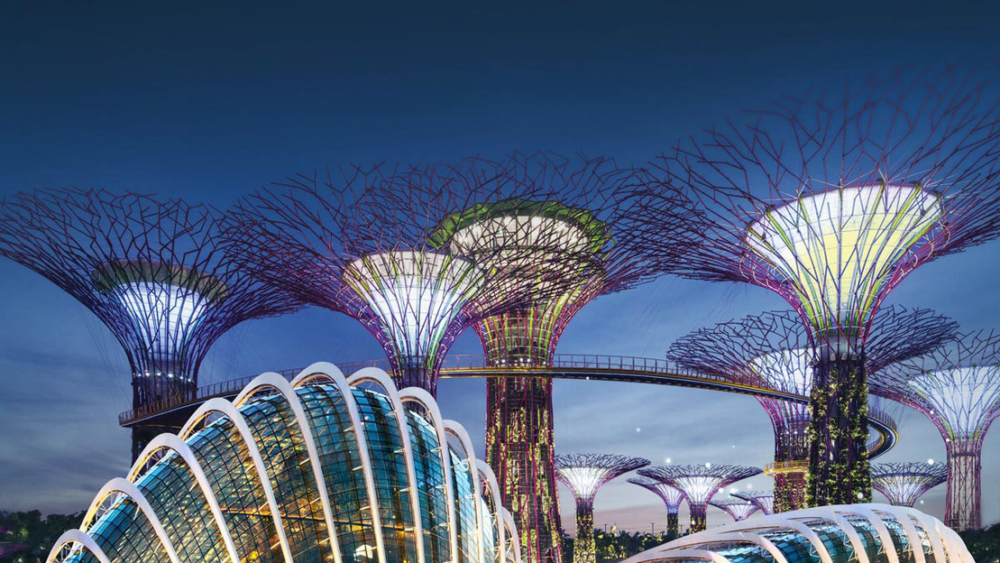 Singapore: visita al parco Garden By The Bay - Main image
