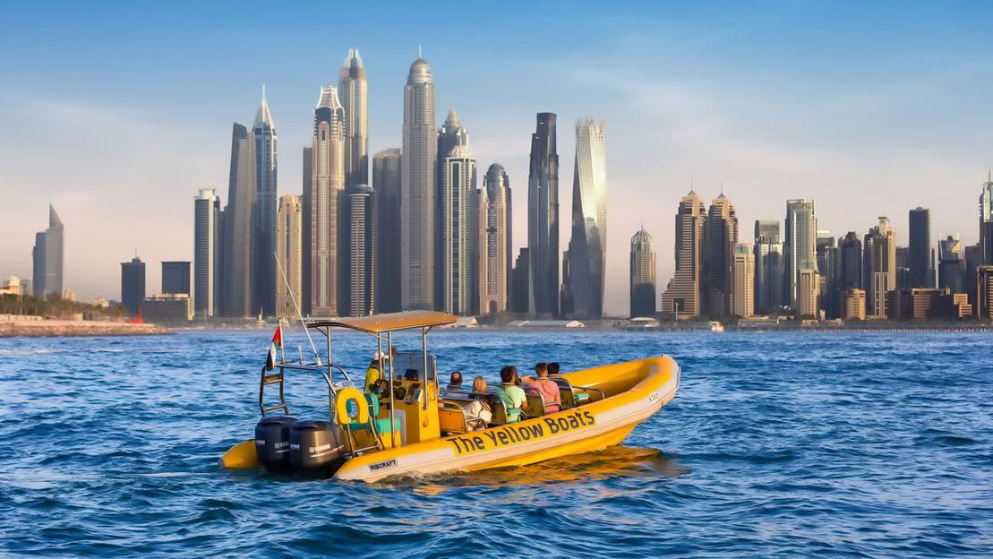 60 minuti - La crociera turistica della Marina Dubai - Main image