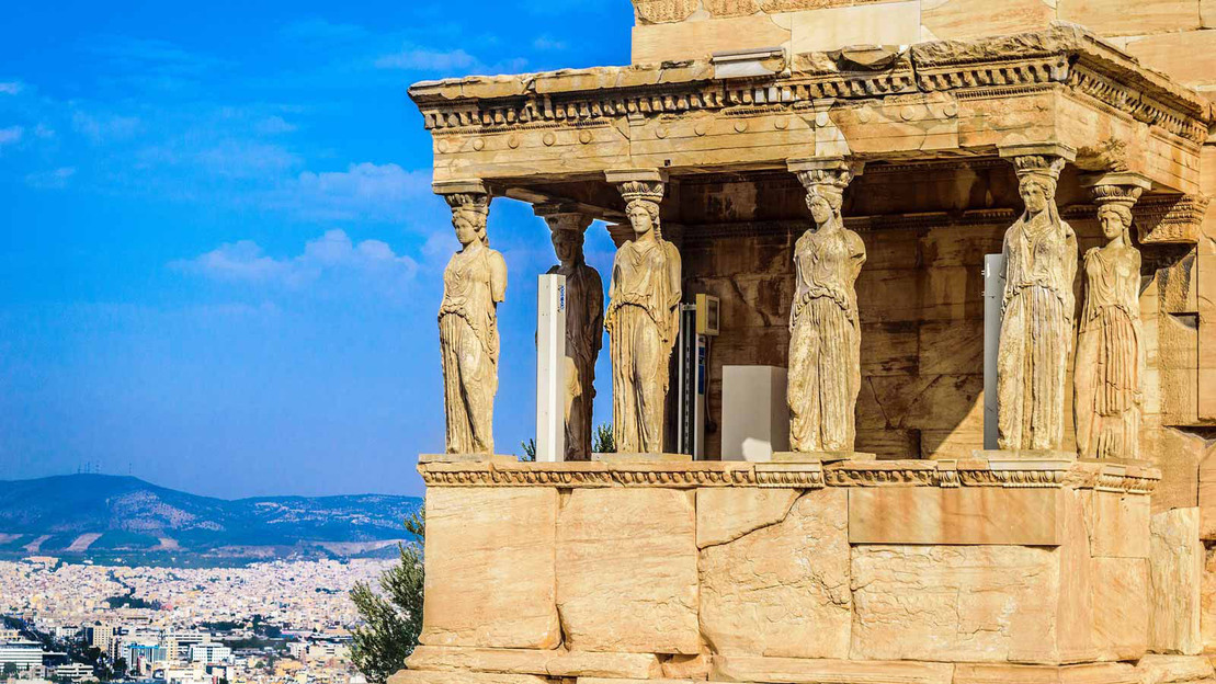 Athens sightseeing and Acropolis museum tour - Main image