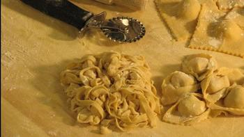 Hand-made Pasta and Typical Dessert - Image