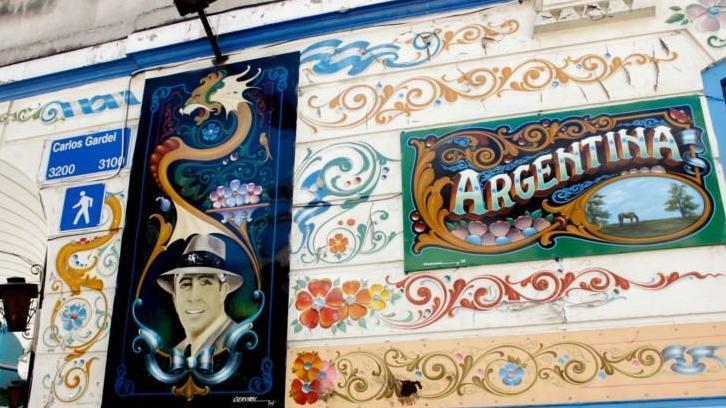 Fileteado Street Art di Buenos Aires - Main image