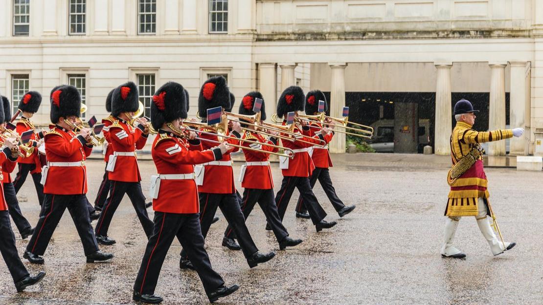 Marzo con le guardie: Cambio del tour delle guardie e Buckingham Palace - Main image