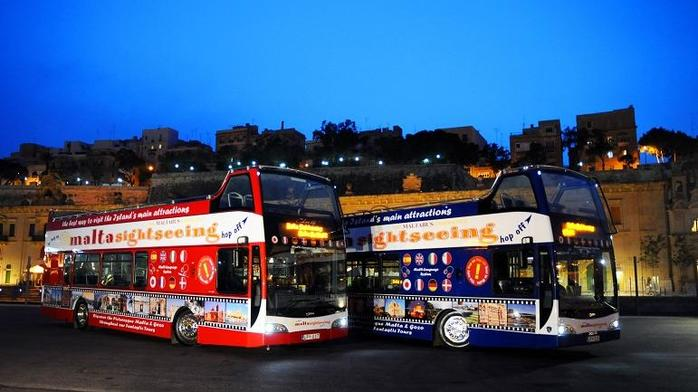 Malta di notte Supreme Travel Ltd