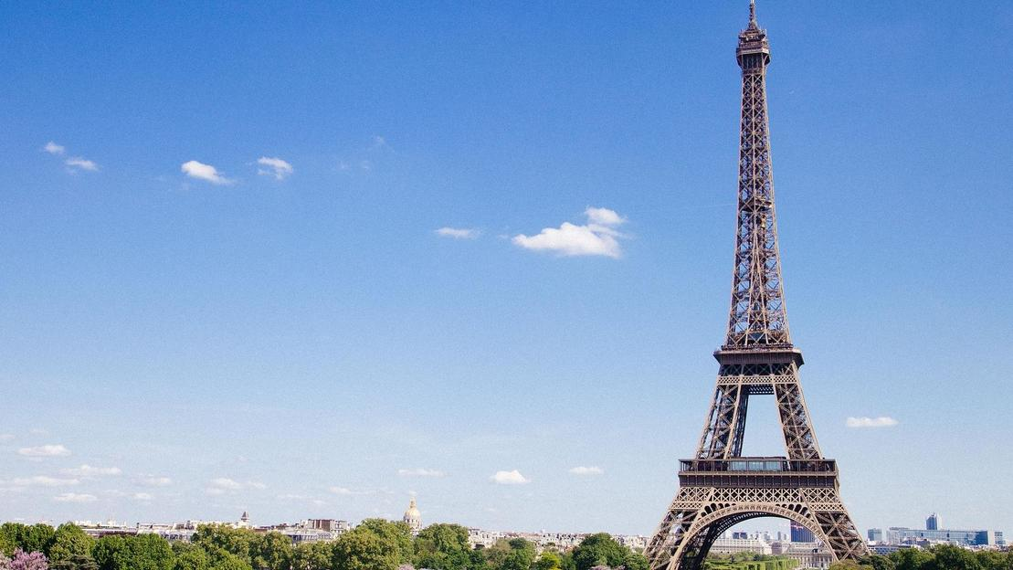 Torre Eiffel con vertice - Main image