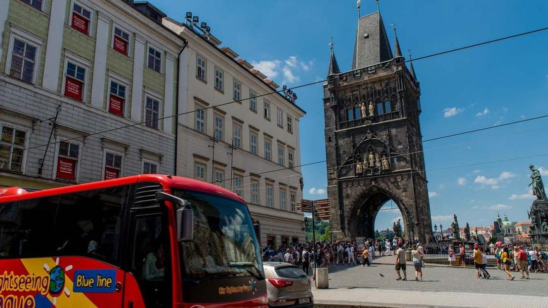 Jewish Quarter with Hop-On Hop-Off Prague Tour by bus or boat - Main image