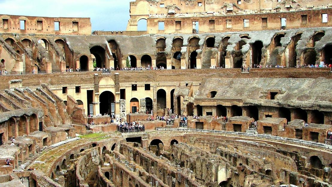Colosseum Underground Tour with Gladiator Arena and Roman Forum - Main image