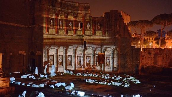 Roman Forum Experience: admission ticket and Night light show - Main image